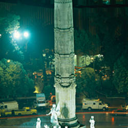 High angle view of a monument, El Angel, Paseo De La Reforma, Mexico City, Mexico