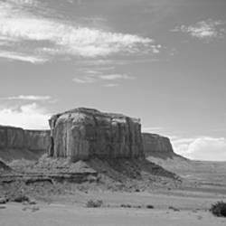 Rock formations on the landscape, Monument Valley, Arizona, USA