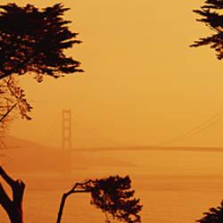 Bridge Over Water, Golden Gate Bridge, San Francisco, California, USA