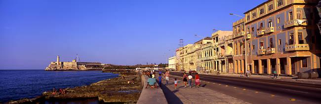 Street, Buildings, Old Havana, Cuba