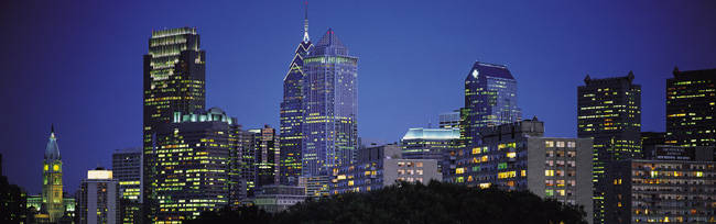 Night, Philadelphia, Pennsylvania, USA