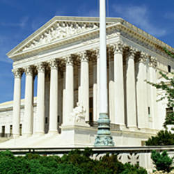 US Supreme Court, Washington DC, District Of Columbia, USA