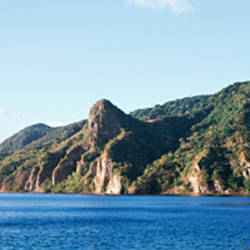 Dominica, Village of Soufriere, South West Coast
