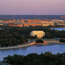 Aerial, Washington DC, District Of Columbia, USA
