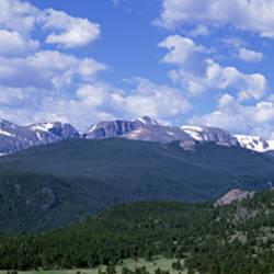 Beaver Meadows Rocky Mt National Park CO USA