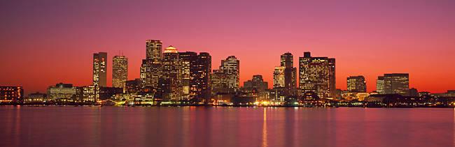 Sunset Boston MA