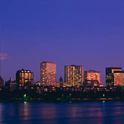 Buildings along a river, Charles River, Boston, Massachusetts, USA