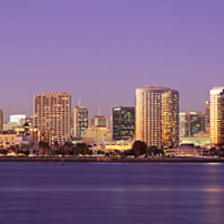 Skyscrapers in a city, San Diego, San Diego County, California, USA