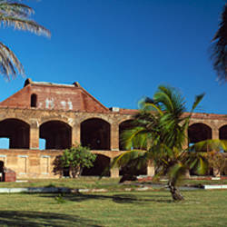 Ruins of a fort, Fort Jefferson, Dry Tortugas National Park, Monroe County, Florida, USA