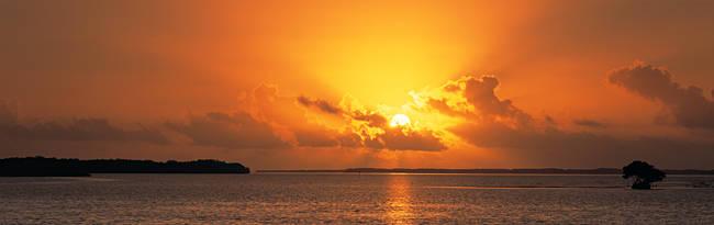 Sunrise Florida Bay Everglades National Park FL USA