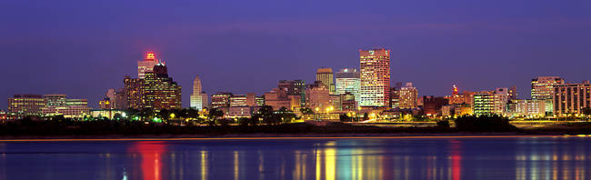 Dusk, Memphis, Tennessee, USA