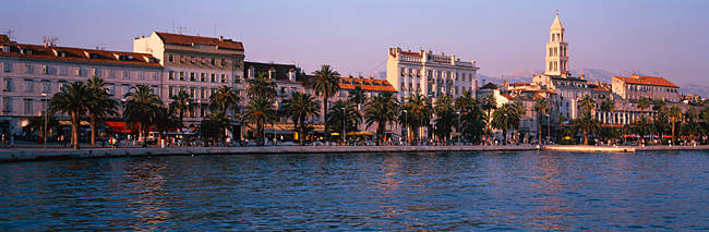 Buildings at the waterfront, Split, Croatia