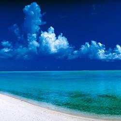 Matira Beach Bora Bora Polynesia