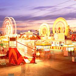 Ferris wheel in an amusement park, Arizona State Fair, Phoenix, Arizona, USA