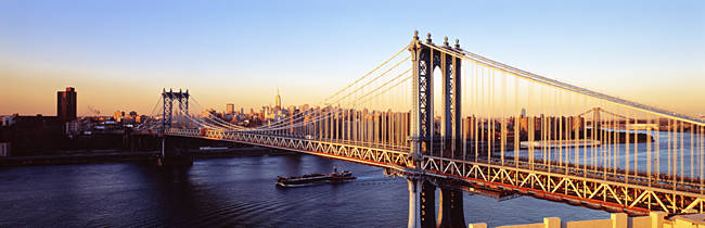 Manhattan Bridge, NYC, New York City, New York State, USA