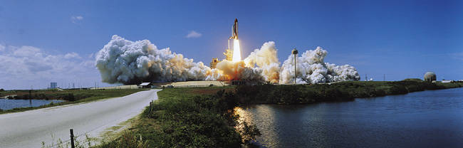 Launch, Kennedy Space Center, Florida, USA