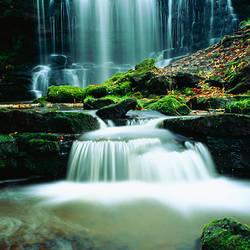 Waterfall Yorkshire England