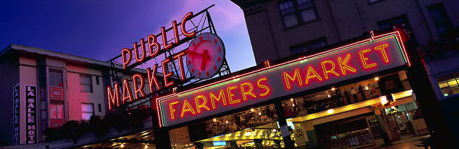 The Public Market Seattle WA USA