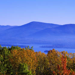 Lake George, Adirondack Mountains, New York State, USA