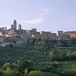 Italy, Tuscany, Towers of San Gimignano, Medieval town