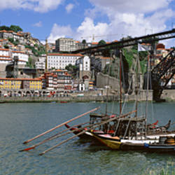 Bridge Over A River, Dom Luis I Bridge, Douro River, Porto, Douro Litoral, Portugal