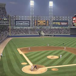 USA, Illinois, Chicago, White Sox, baseball