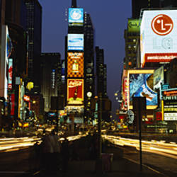 Shopping malls in a city, Times Square, Manhattan, New York City, New York State, USA
