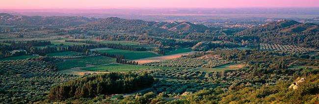 Landscape, Les Baux Provence, France