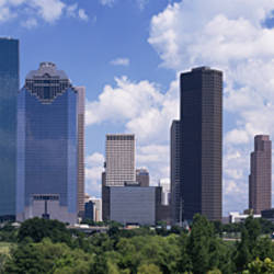 Buildings in a city, Houston, Texas, USA