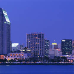 Skyline, San Diego, California, USA