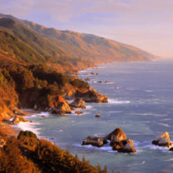 Vista Point, Big Sur, California, USA