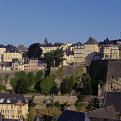 Buildings in a city, Luxembourg City, Luxembourg