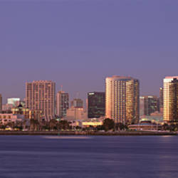 Buildings in a city, San Diego, California, USA