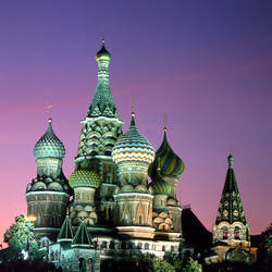 St Basil?s Cathedral Moscow Russia