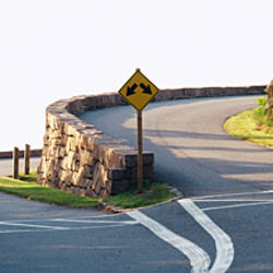 Split Road, Acadia National Park, Maine, USA