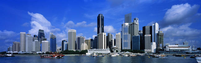 Financial District, Skyline, Singapore