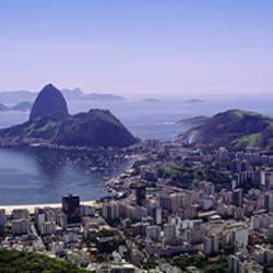 Aerial view of a city, Rio De Janeiro, Brazil