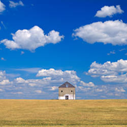Barn in the farm, Grant County, Minnesota, USA