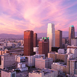 High Angle View Of The City, Los Angeles, California, USA,