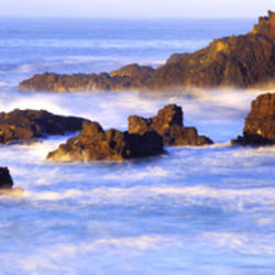Rokcs, Water, Ocean, Baja, California, Mexico