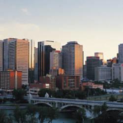 Summer, Skyline, Cityscape, Calgary, Alberta, Canada