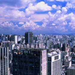 Skyline, Cityscape, Sao Paulo, Brazil