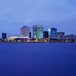 Buildings on the waterfront, Norfolk, Virginia, USA
