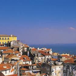 Lisbon, Cityscape, Skyline, Portugal