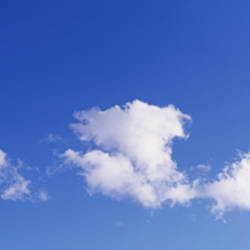 USA, Florida, Cloud in the blue sky