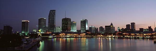 Skyline Miami FL USA