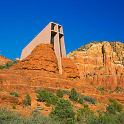 Low angle view of a chapel, Chapel Of The Holy Cross, Sedona, Arizona, USA