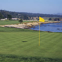Pebble Beach Golf Course Pebble Beach CA