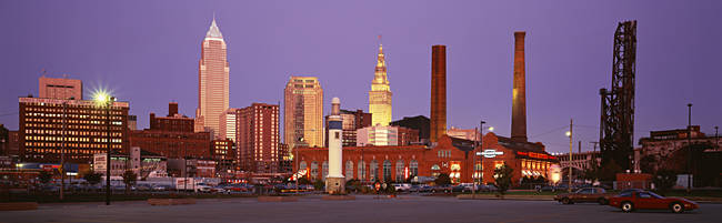Skyline, Cleveland, Ohio, USA