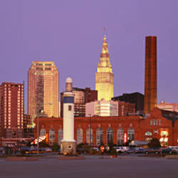 Skyline, Cleveland, Ohio, USA